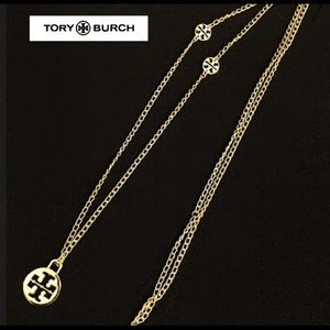 ✅ 🆕 LARGE TORY BURCH CHARM NECKLACE